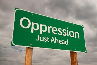 What would be a good example of an oppressor and an oppressed?